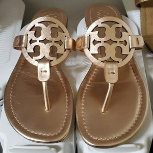 Tory Burch Rose Gold Miller 8.5